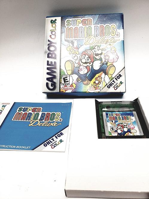 Nintendo Gameboy Color Super Mario Bros. Deluxe