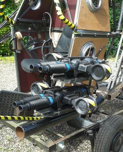 Steampunk Robot Nerf Guns