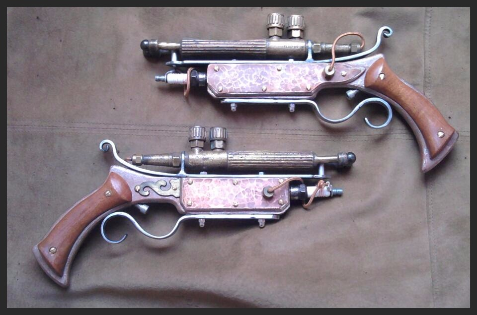 Steampunk Rayguns