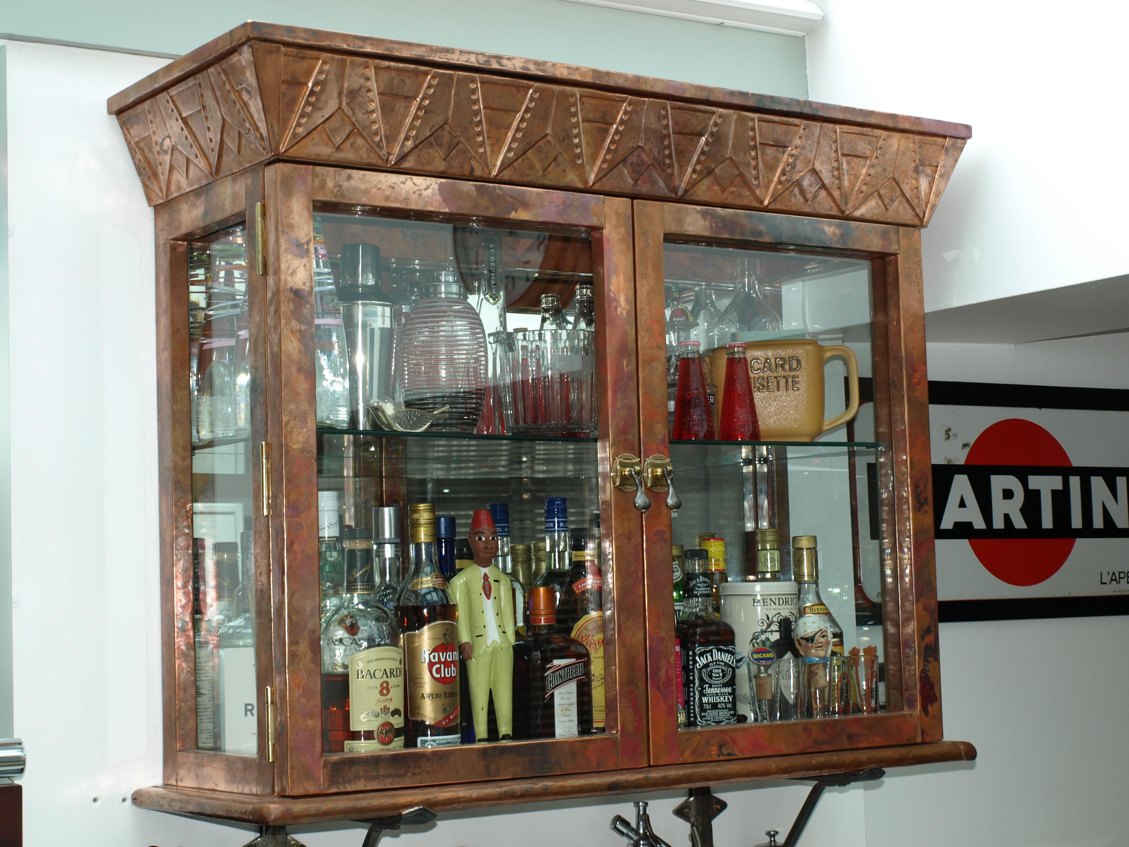 Copper Cabinet