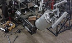 Steampunk Robot. Arm