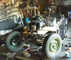 Halftrack chassis