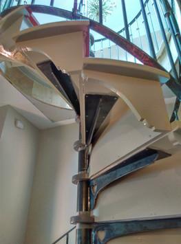 Spiral Stair Treads