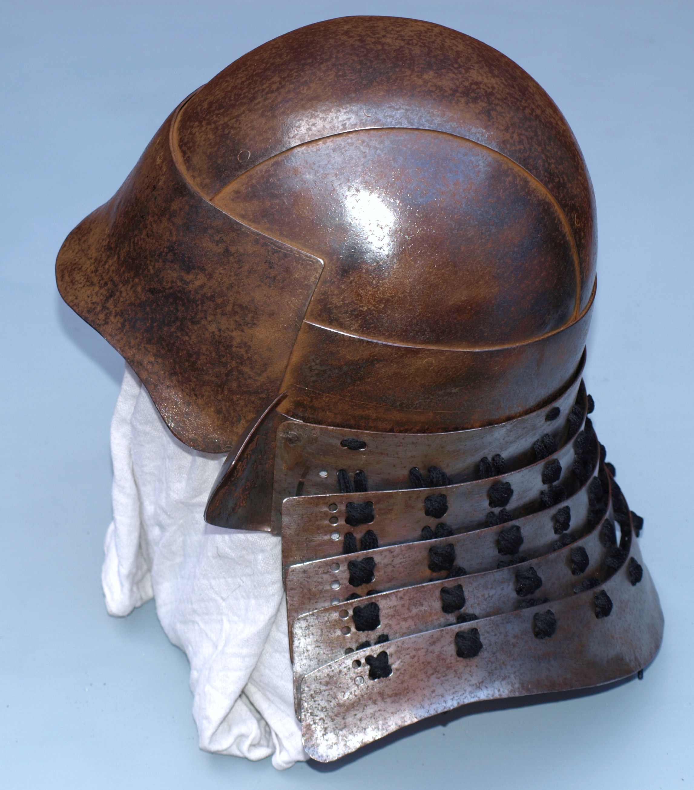 Samurai helmet reproduction