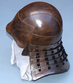 Samurai helmet reproduction