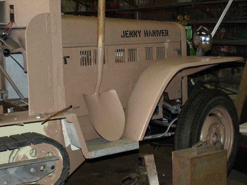Halftrack; Jenny Haniver