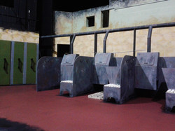 The Steamie Stage Set