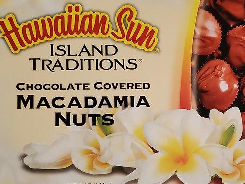 Hawaiian Sun Chocolate Covered Macadamia Nuts