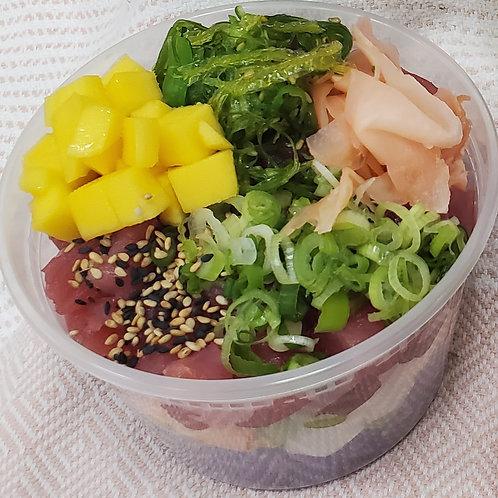 Ahi Poke Salad Cups
