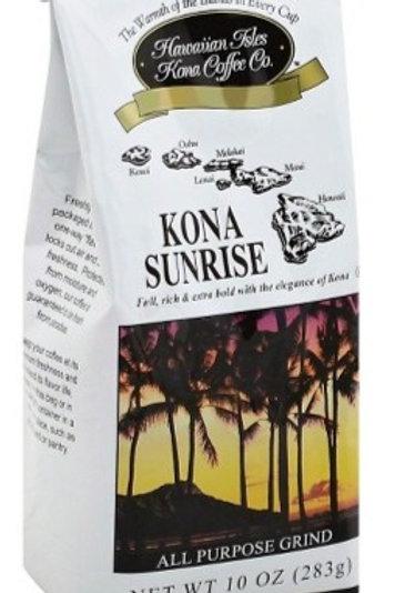 Hawaiian Isles Kona Sunrise Coffee