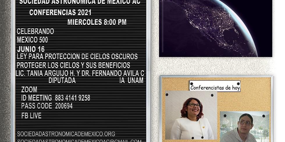 Ley para protección de cielos oscuros. Como proteger los cielos en México y sus beneficios.