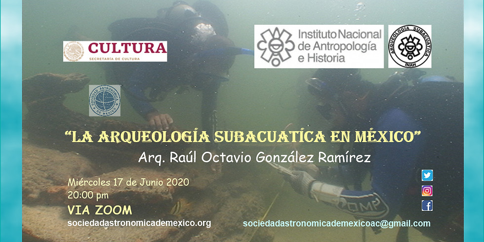 La Arqueología Subacuática en México