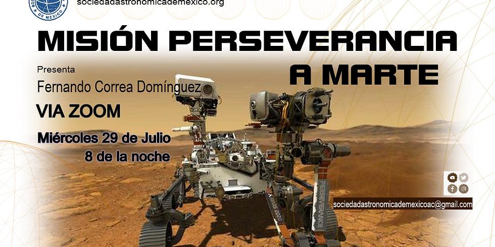 Misión Perseverancia a Marte