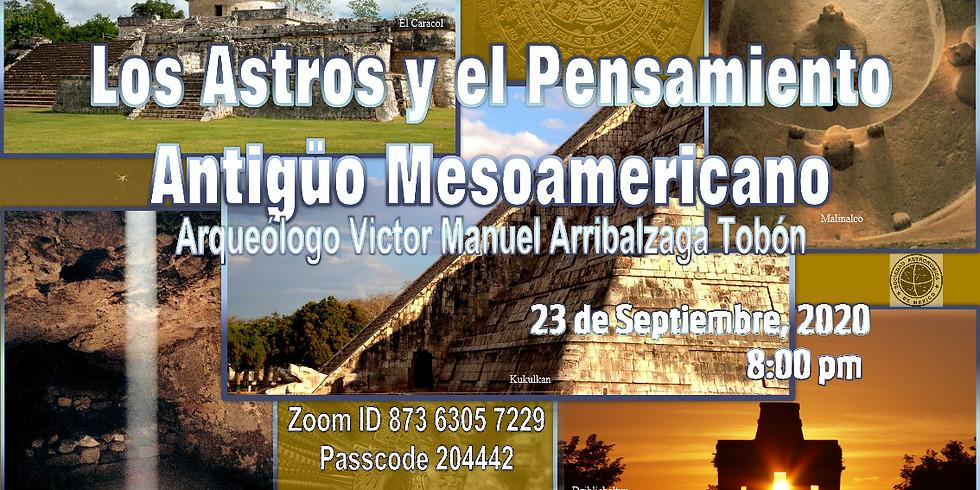 Los astros y el pensamiento antigüo mesoamericano