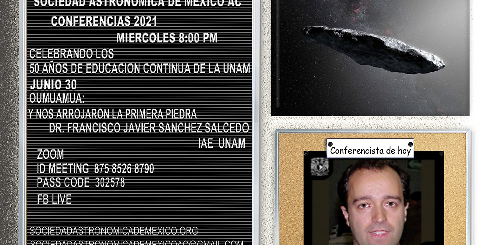 Oumuamua: y nos arrojaron la primera piedra