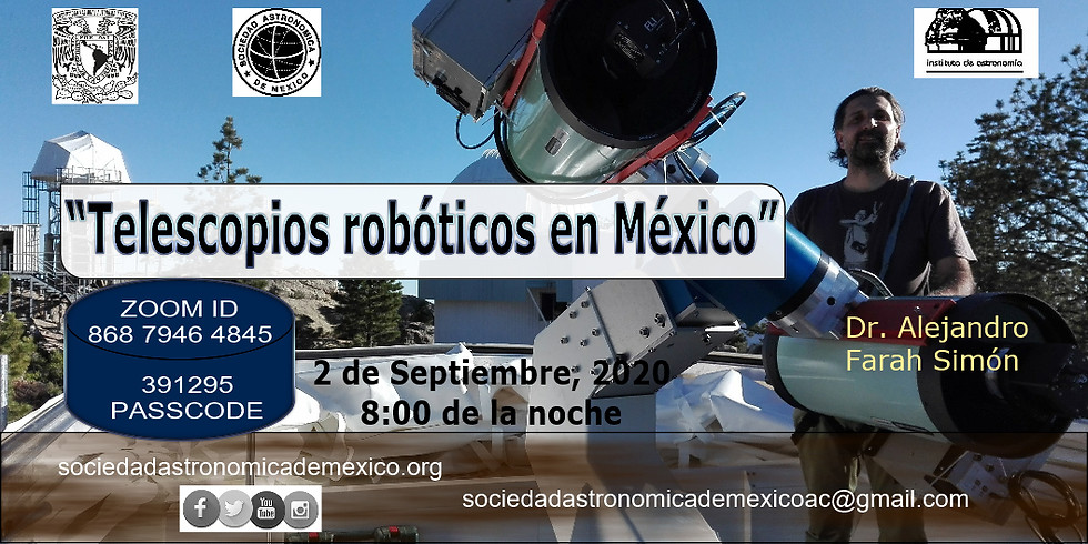 Telescopios Robóticos en México