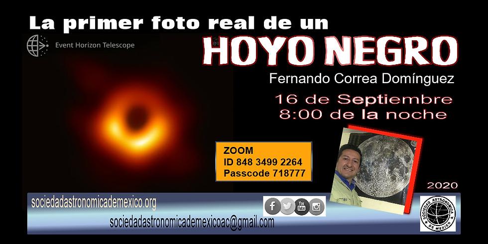 La primer foto real de un hoyo negro