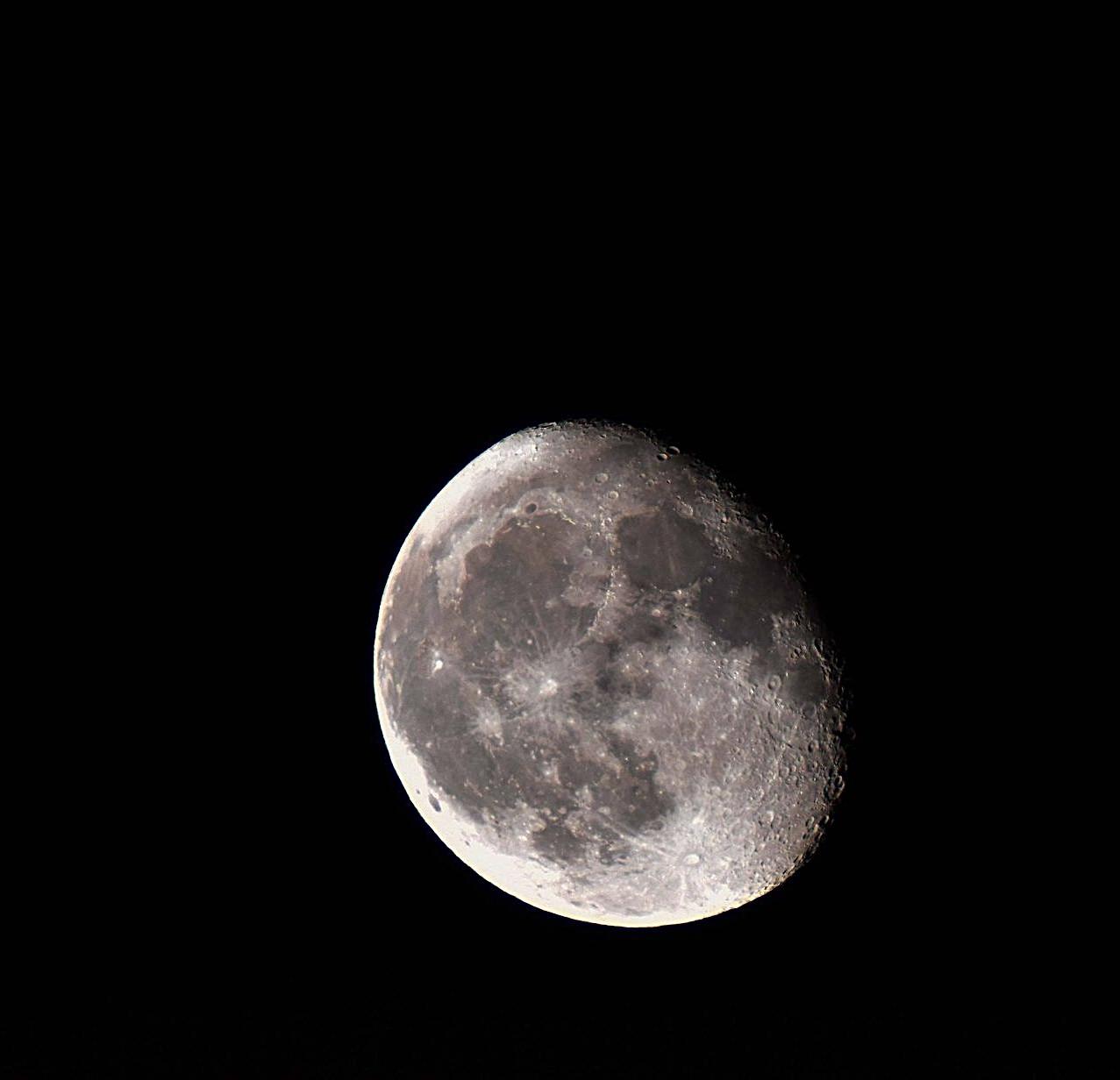 Conjunción Luna Marte