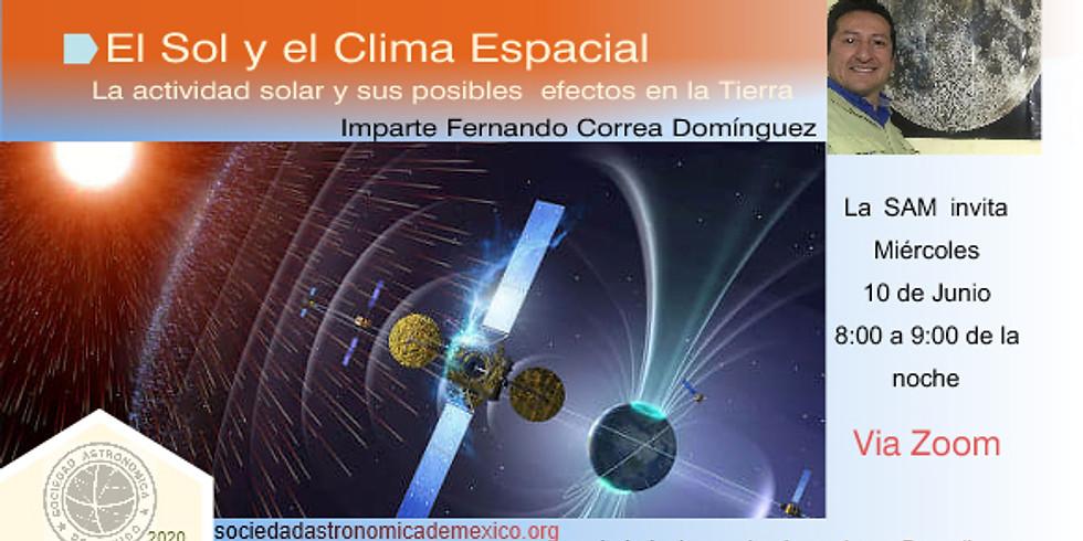 El Sol y el clima espacial
