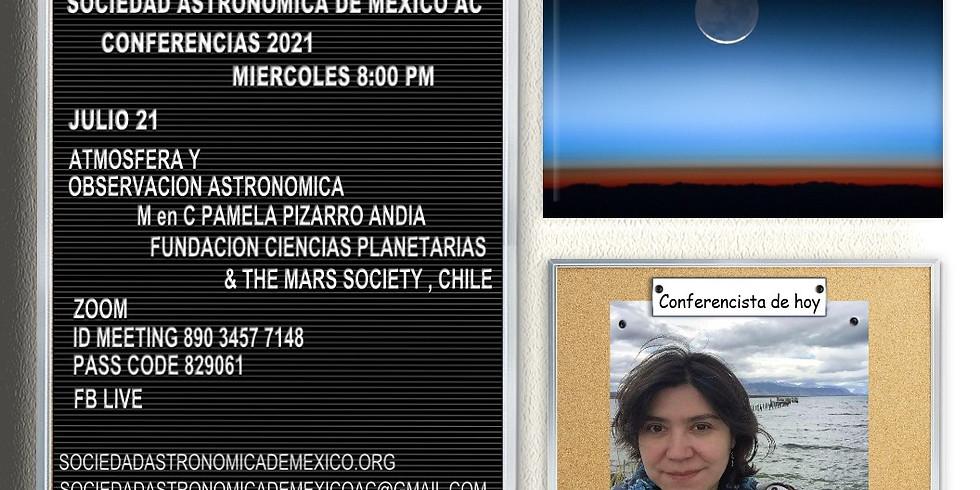 Atmósfera y Observación Astronómica.
