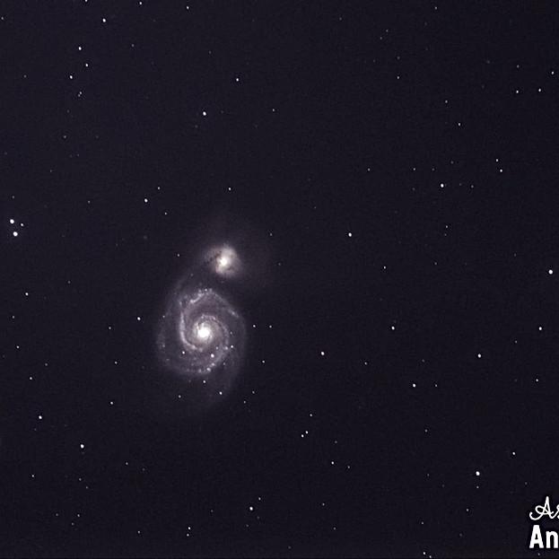 M51 Galaxia del remolino