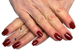 Gel Nails with gel polish