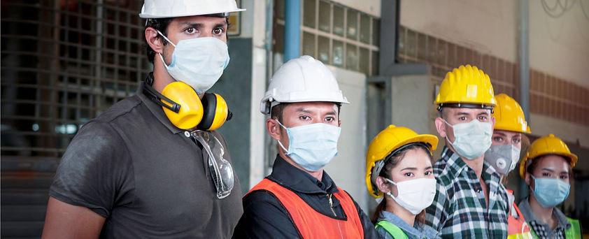 Arbeitnehmerschutz-Schutzmasken_shutters