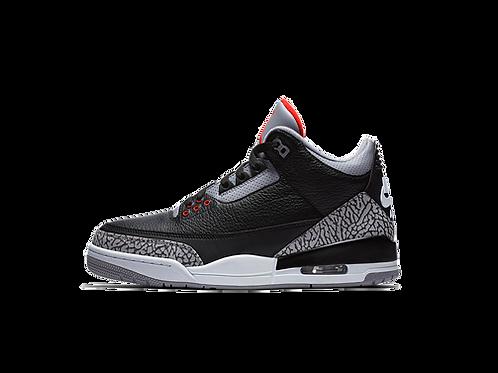 Jordan III Black Cement