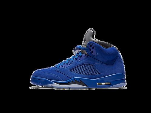 Jordan V Blue Suede