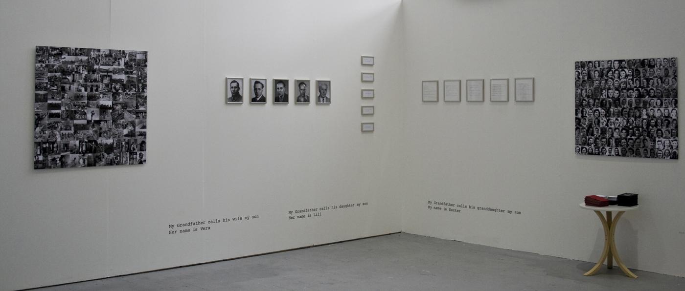 Biro Eszter degree show installation