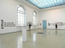 Installation in Kunsthalle