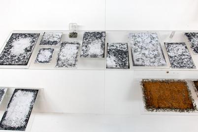 Installatiom view - Eraser Works