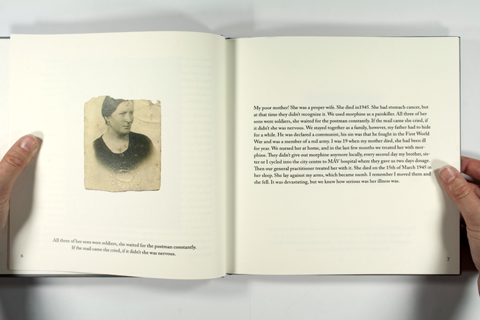 Inside of Ibolya's book