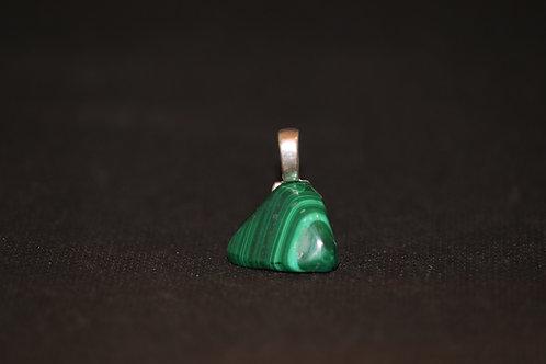 Polished Malachite Stone (1) - Pendant