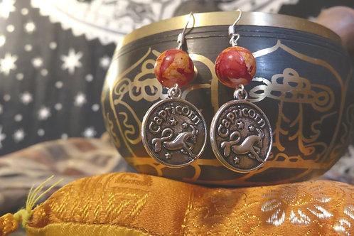 Zodiac (2) - Earrings : French Hook Dangles