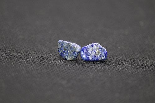 Lapis Lazuli (1) - Earrings : Studs
