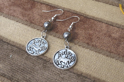 Zodiac (2) - Earrings : French Hook Dangles