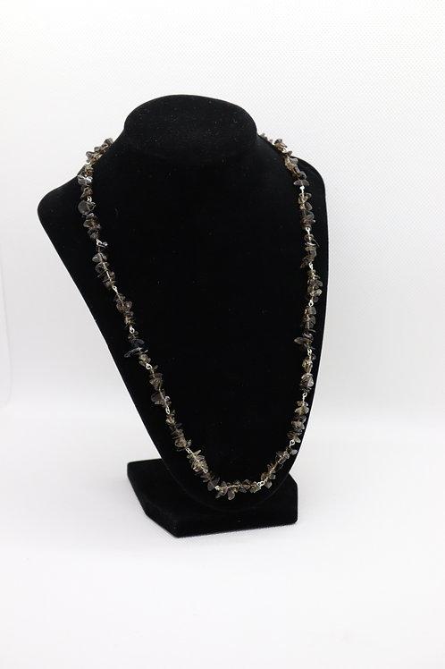 Smokey Quartz (154) - Necklace : Beaded