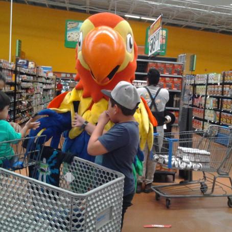 Activación Día del Niño Walmart Isla Musala