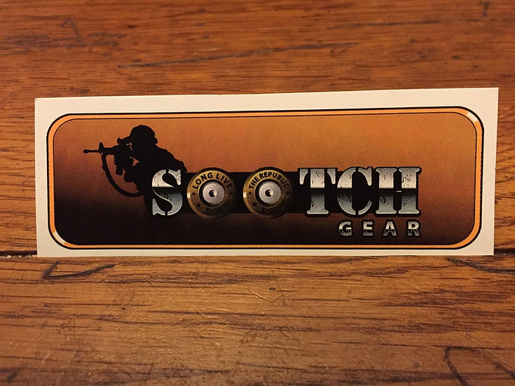 Sootch Gear Sticker
