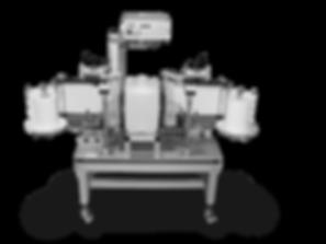 Halbautomatische Kanisteretikettierung