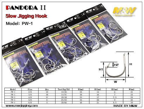 M&W PW-1 Slow Jigging Hook