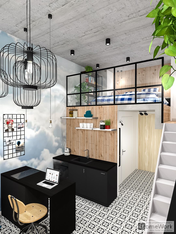 Loft w chmurach
