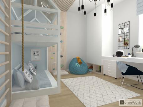 Pokoj ośmioletniego Bruna