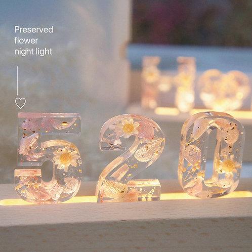 |浪漫字母小夜燈工作坊|
