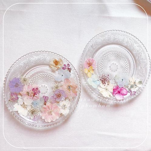 |押花水晶花紋杯碟套裝工作坊|