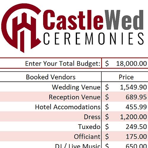 CastleWed Desktop Budget