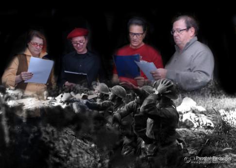 """Kritik Lesung """"Mörder"""" von Uwe Kullnick im Literaturbüro, München 2014"""