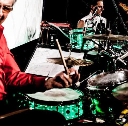 It was a great honour for us! Drumbattle Pete York & Carsten Enghardt vs.Ali Khan