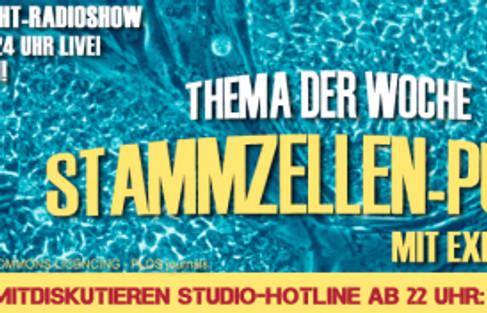 """Mittwoch, 14.November 2012 ab 22 Uhr anrufen! Ali Khan Radioshow – """"Stammzellenpunk&#822"""